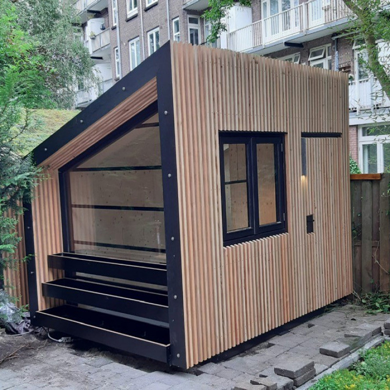 Satisfied customer for a garden office from  My Home Office