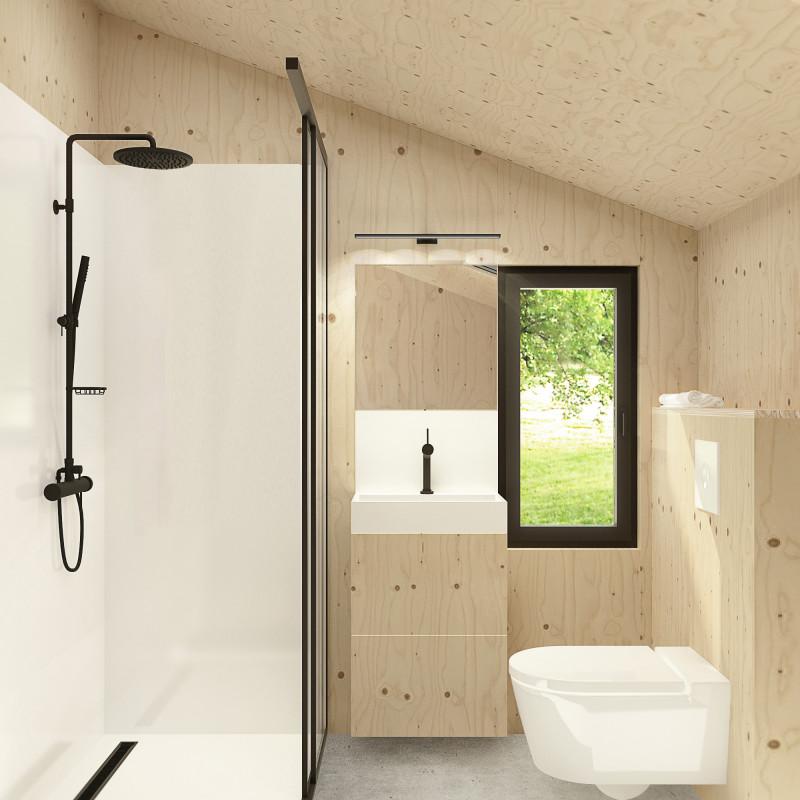 MHO Model 3.0 met badkamer