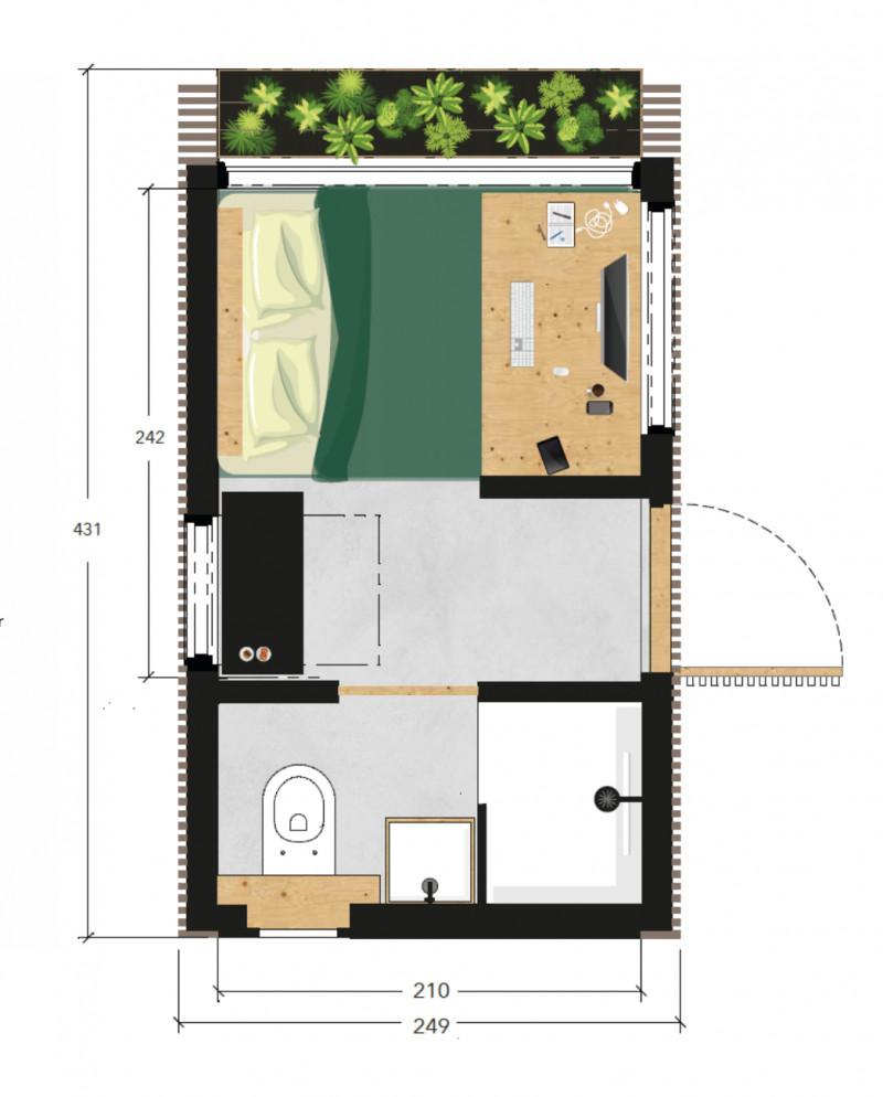 Meet our Home Office Model 3.0 Plattegrond